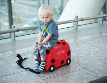 långflygning med barn